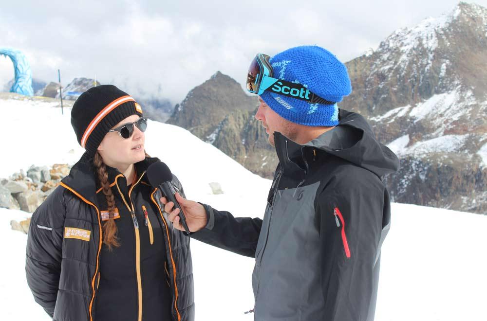 Interview mit Alexandra Engels, Online Marketing Stubaier Gletscher