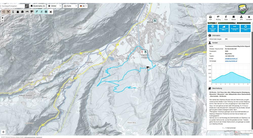 Tourenportal Mayrhofen