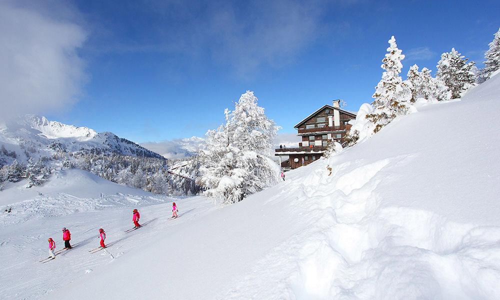 Spaß im Winterurlaub in den Brenta-Dolomiten