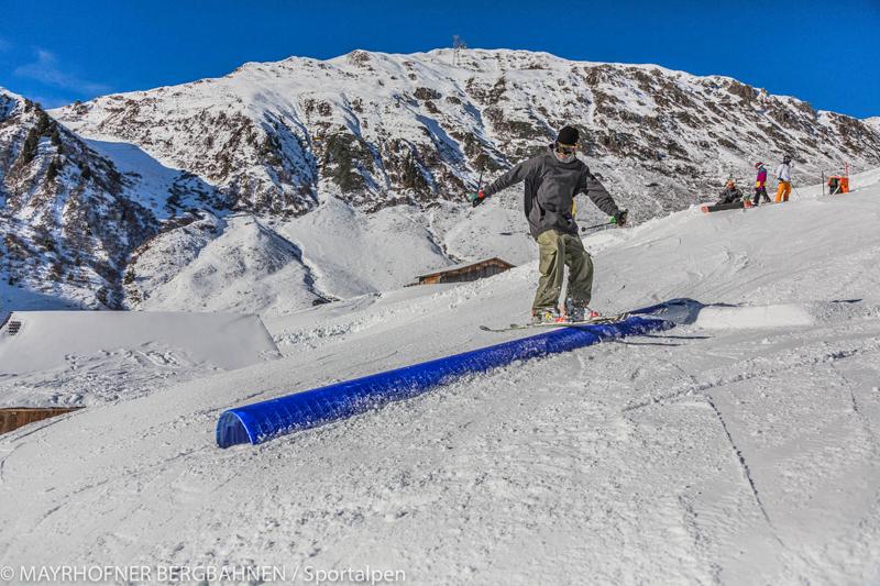 Funparktrick: Ski Slide