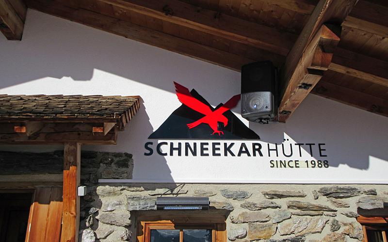Schneekarhütte in Mayrhofen © Schneemenschen