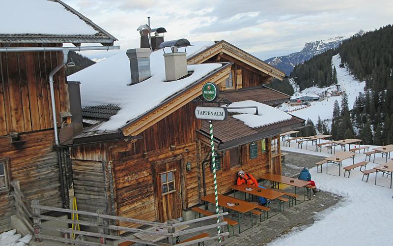 Jausenstation Tappenalm © Schneemenschen