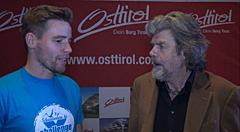 Chris im Gespräch mit Reinhold Messner
