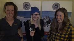 Interview mit Nadine Wallner und Melissa Presslaber