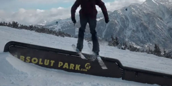 Boarder in Action im ABSOLUT Park