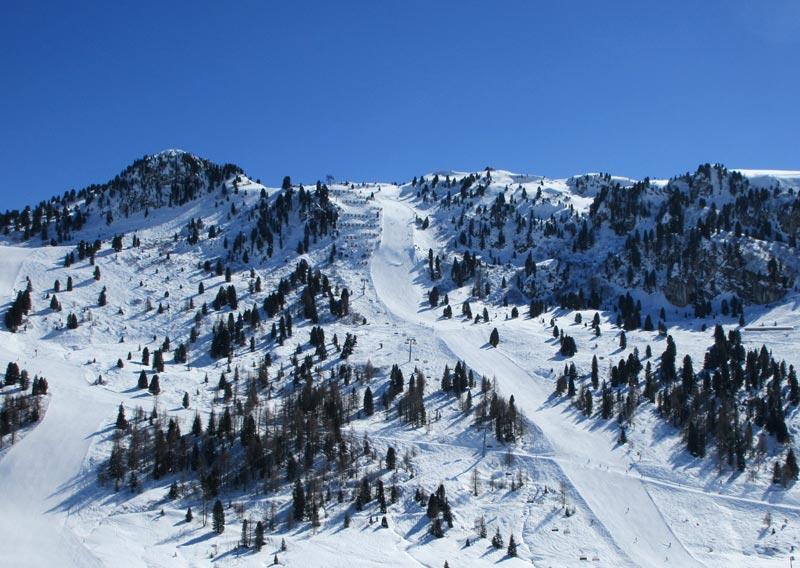 Blick auf die Harakiri in Mayrhofen