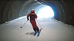 Skitunnel in Damüls-Mellau