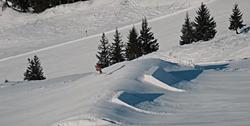 Burton Snowpark in Damüls-Mellau