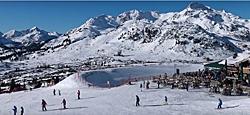 Panoramablick im Skigebiet Obertauern
