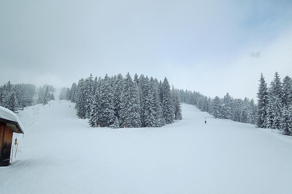 Skifahren auf der Winklmoosalm