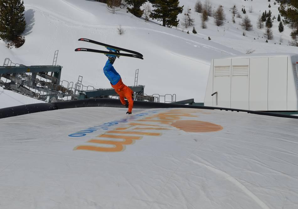 Alex vom Schneehoehen.de X-Challenege-Team gibt alles