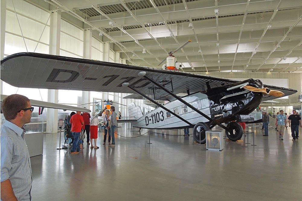 Flugzeug im Dornier Museum