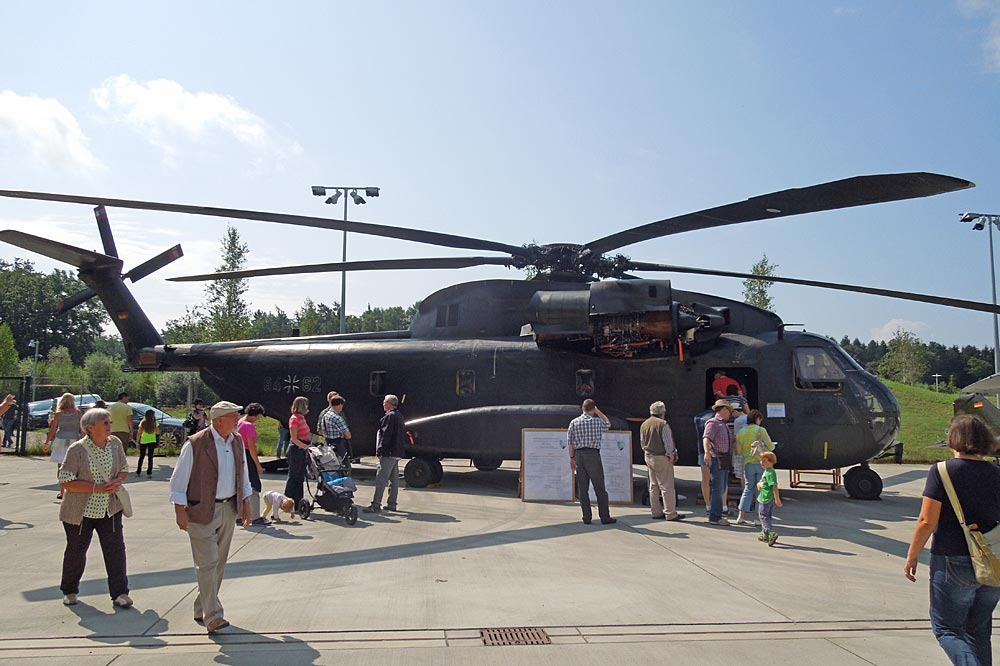 Hubschrauber bei den DO Days