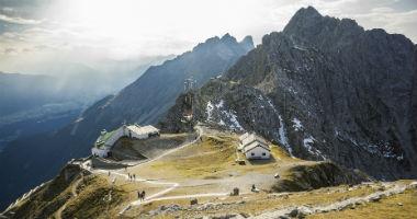 Blick auf die Innsbrucker Bergwelt