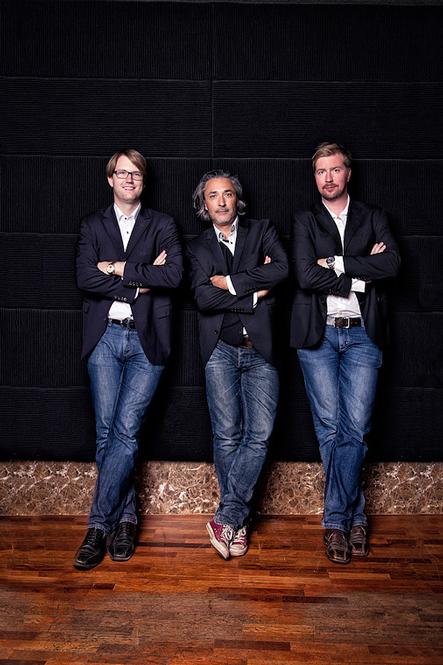 Die drei Künstler von UnikArt