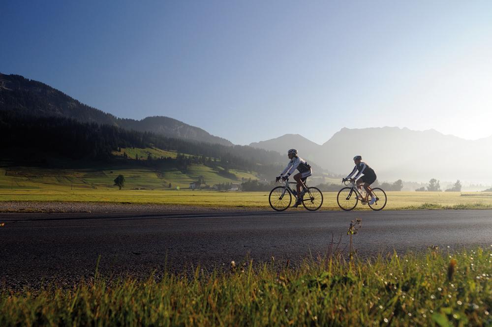 Auf dem Rad durch das Tannheimer Tal