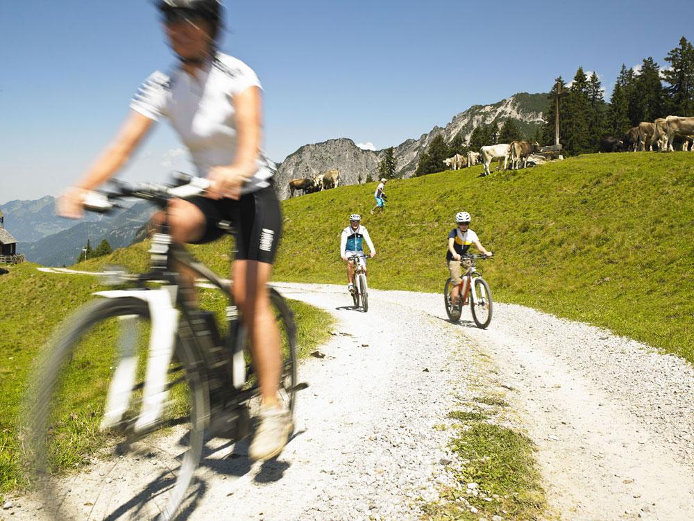 E-Bike-Tour Alpe Nova