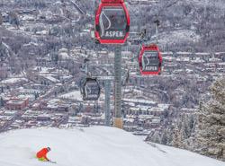 Gondelbahn in Aspen Snowmass