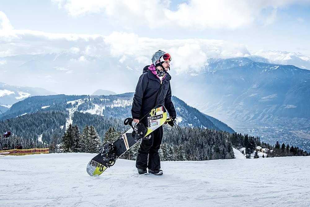 Snowboardlehrer Omar Visintin