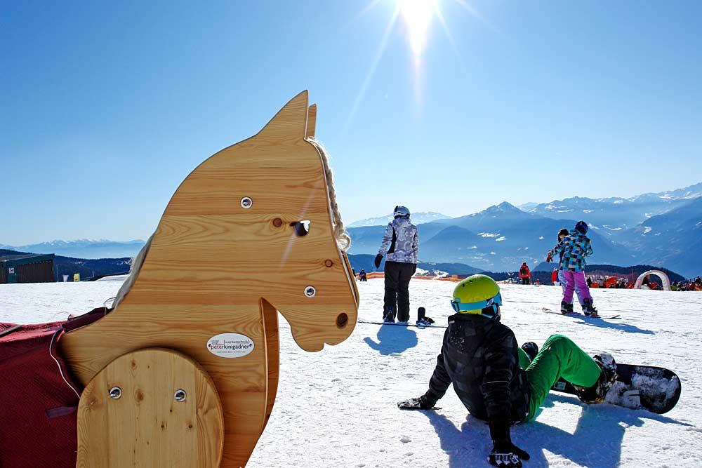Snowboard lernen in Meran2000 © Tagraum