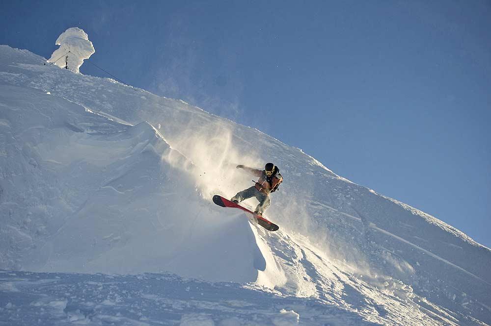 Snowboarder im Backcountry von Obertauern © Tourismusverband Obertauern