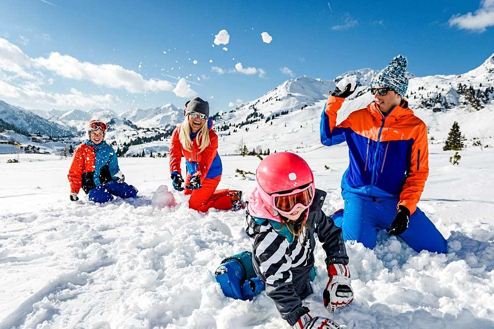 Familien fühlen sich wohl in Obertauern © Tourismusverband Obertauern