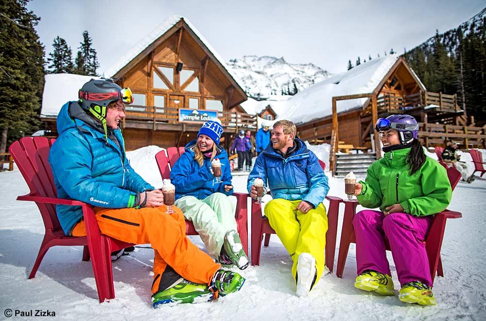 Gute Stimmung beim Après-Ski © Paul Zizka