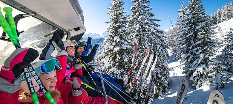 Familienurlaub in der Salzburger Sportwelt