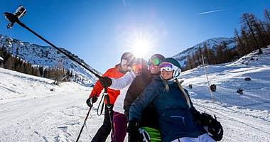 Skifahrer in der Ski Amadé