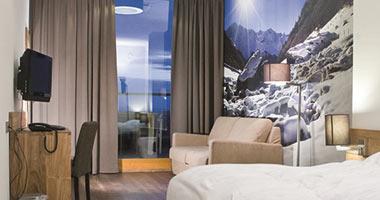 Zimmer im Hotel SnowWorld Landgraaf