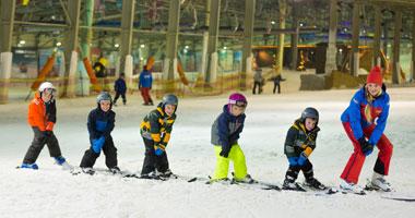 Skischule in der SnowWorld Landgraaf