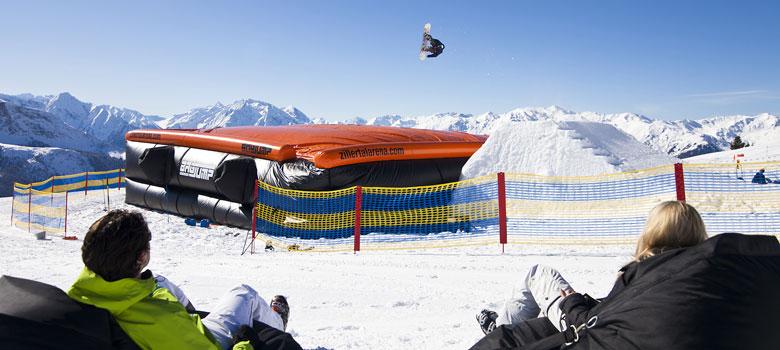 BigJump im Snowpark Zell