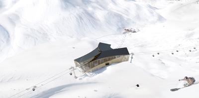 Zwischenstation Trittkopf am Arlberg
