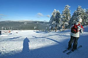 Skifahren im Skigebiet Wurmberg-Braunlage