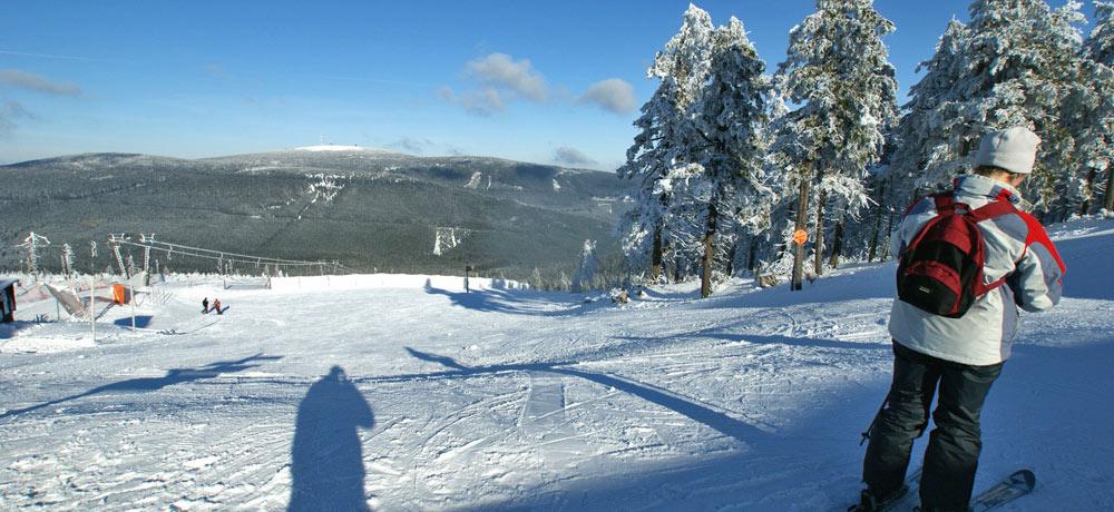 Skifahrer am Wurmberg