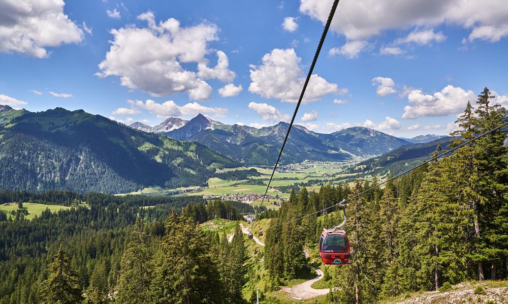 Bergbahn im Tannheimer Tal