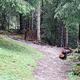 Baustelle des Single Trails in Kals