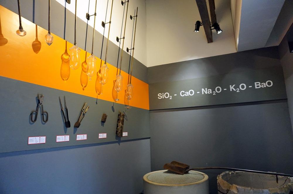 Übersicht über die Werkzeuge zur Glasherstellung