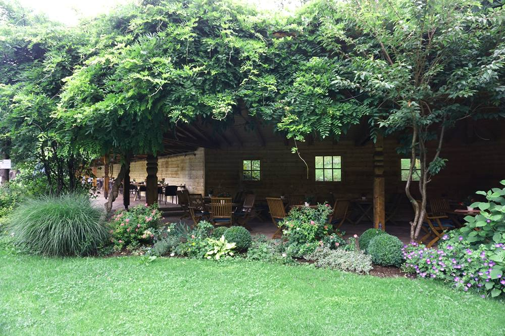 Gartenterrasse Böglerhof in Alpbach