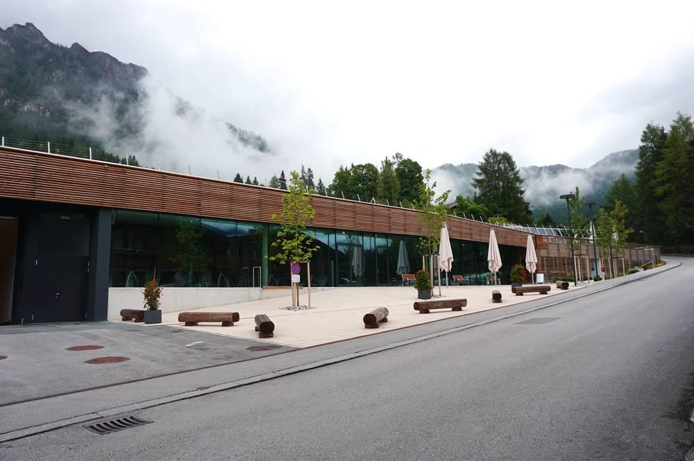 Congress Centrum Alpbach Eingangsbereich