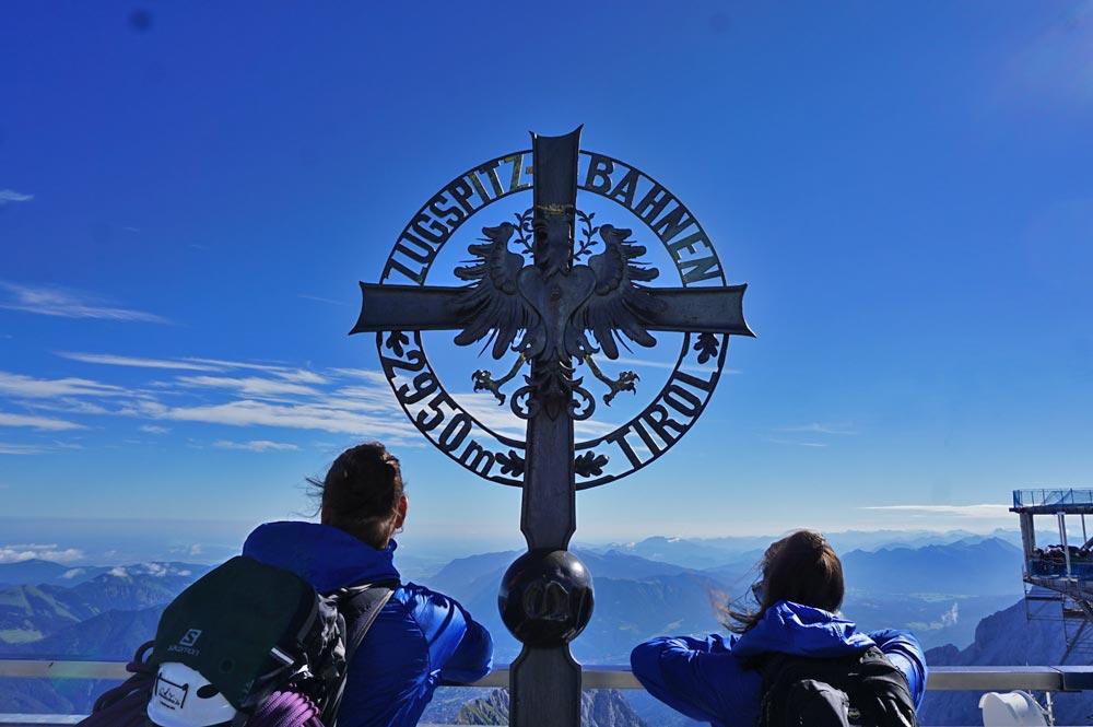 Bergstation der Zugspitzahn in 2950 m