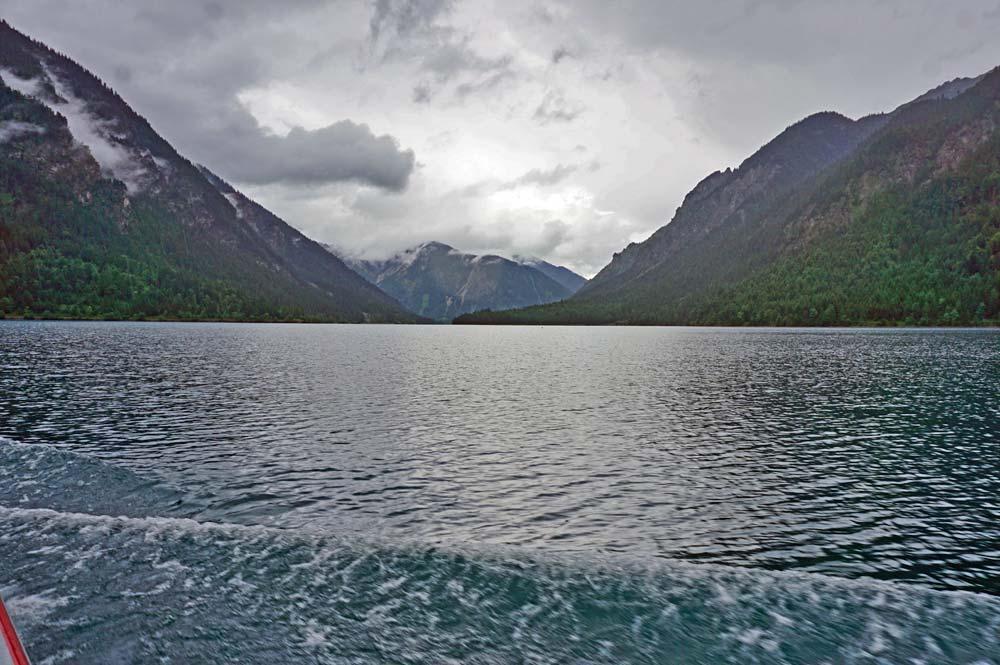 Blick vom Plansee Richtung Heiterwanger See