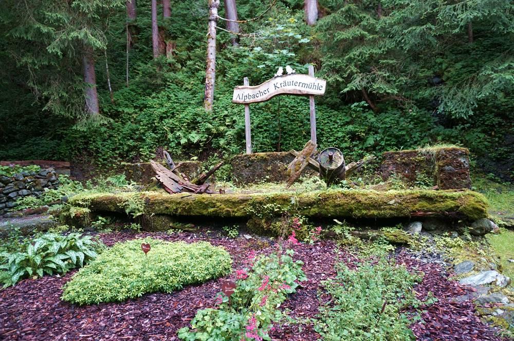 Alpbacher Kräutermühle am Weg der Besinnung - Mühlbachweg