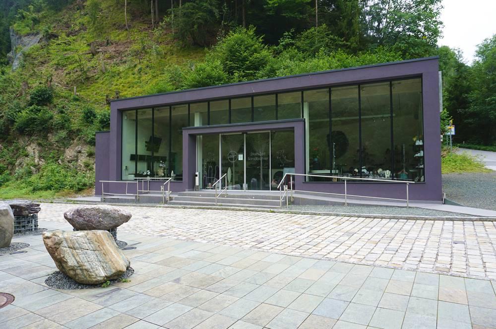 Haus der Steine an der Kundler Klamm