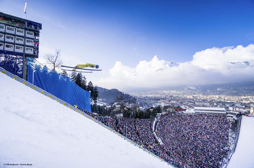 Skispringen am Bergisel in Innsbruck
