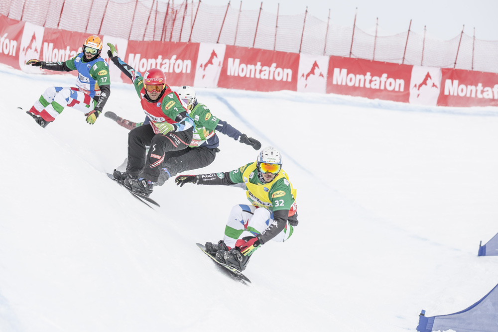 Snowboardcross-Weltcup im Montafon
