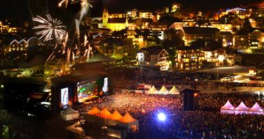 Konzert in Ischgl