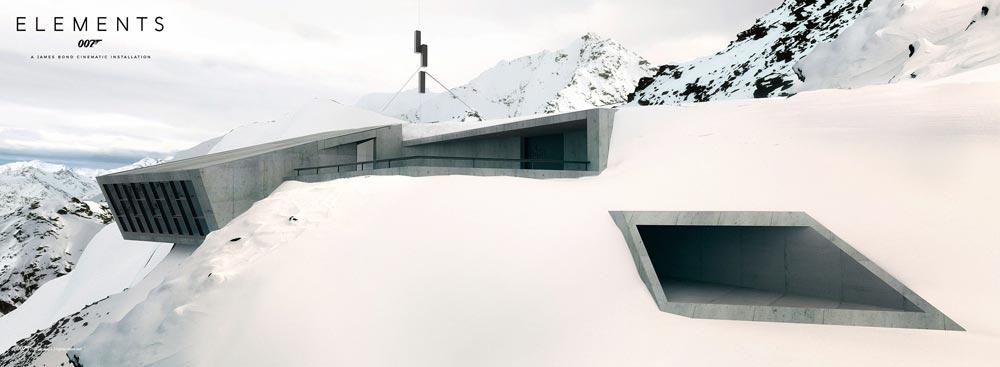 Ausstellung 007 Elements in Sölden