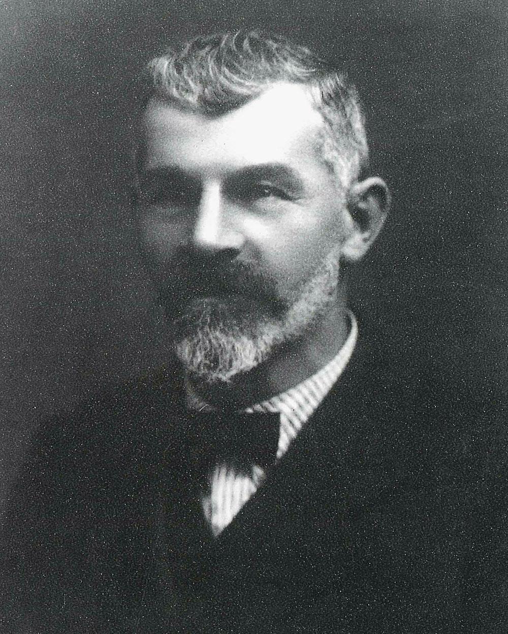 Gabriel Leitner im Jahr 1888