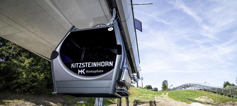 Neue Maiskogelbahn im Skigebiet Kitzsteinhorn-Maiskogel